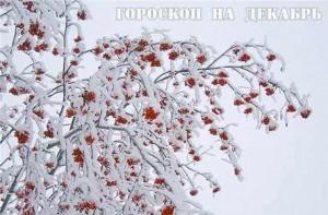 Гороскоп на декабрь для всех знаков зодиака
