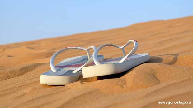 путешествие, пустыня, тапки