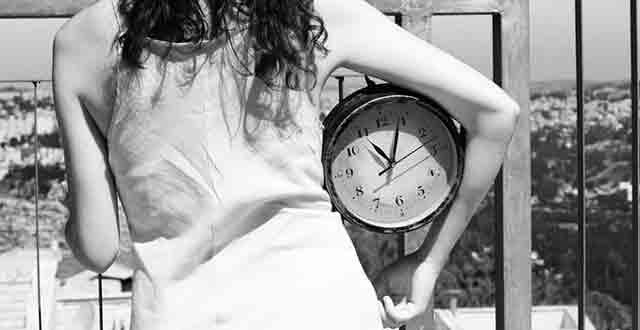 Женщина, секс, часы