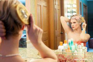 зеркало, отражение, девушка