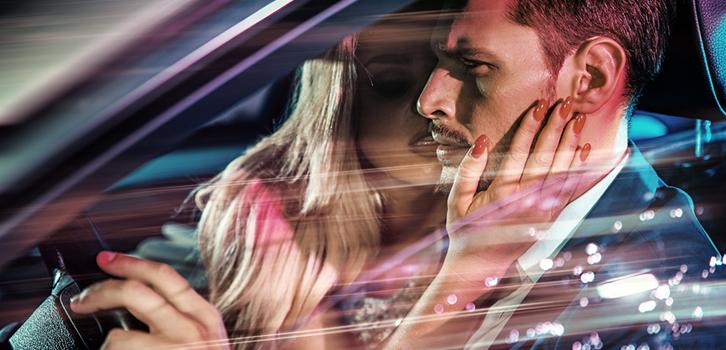Любовь, секс, автомобиль, мужчина, женщина