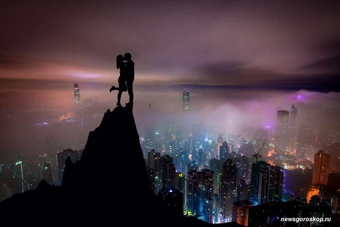 удача, город, ночь, любовь