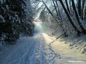 январь, зима