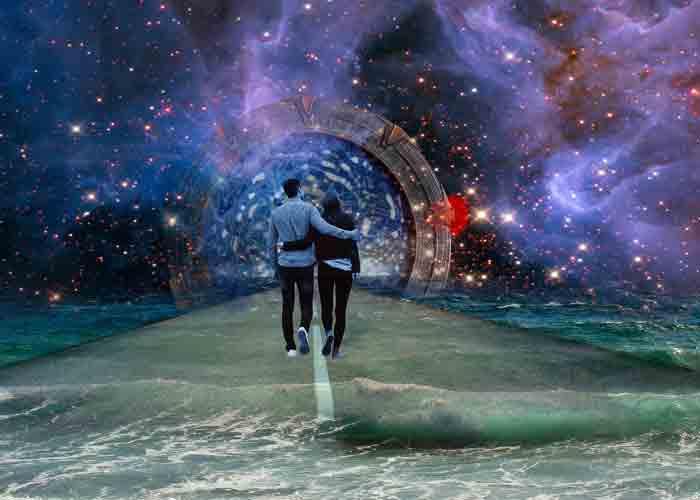 Путешествие, семья, пара, дорога