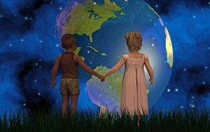 земля, дети