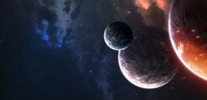 нептун, космос, планета