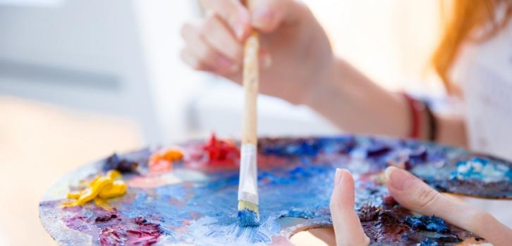 Краски, художник, рисование