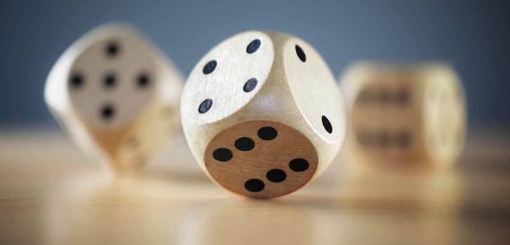 кости, игральный кубик