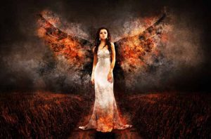 женщина, ангел