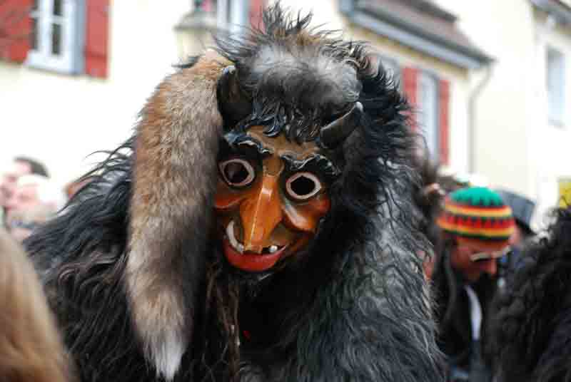 карнавал, масленица, чёрт