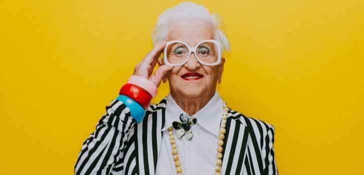 бабушка, старость